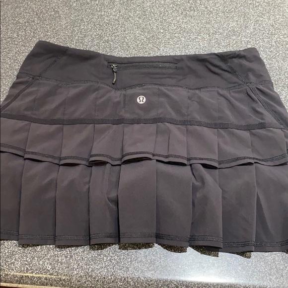 Lululemon Pace Setter Tennis Skirt
